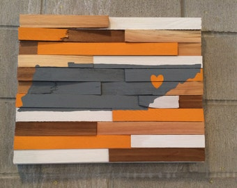 College Wall Hanging - University of Tennessee