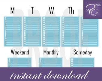 Weekly Planner