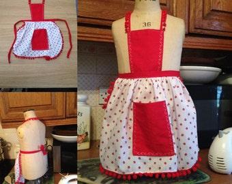 Little Girls apron 2-3