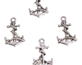 Charm anchor metal