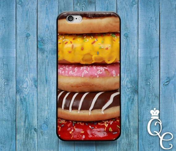iPhone 4 4s 5 5s 5c SE 6 6s 7 plus iPod Touch 4th 5th 6th Generation Funny Doughnut Donut Food Phone Cover Cute Case Cool Fun Foodie Sugar