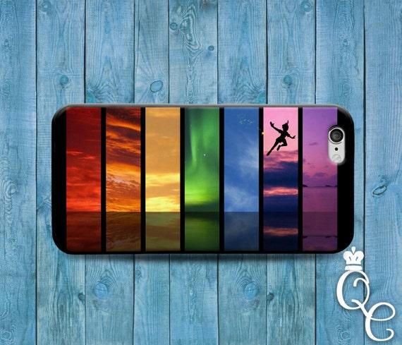 iPhone 4 4s 5 5s 5c SE 6 6s 7 plus iPod Touch 4th 5th 6th Gen Cute Fun Boy Fantasy Land Neverland Ocean Rainbow Cool Phone Cover Custom Case