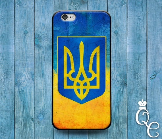 iPhone 4 4s 5 5s 5c SE 6 6s 7 plus iPod Touch 4th 5th 6th Generation Blue Yellow Ukraine Ukrainian Europe National Nation Flag Country Case