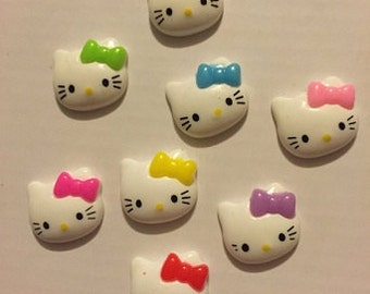 Assorted Kitty Cabochons