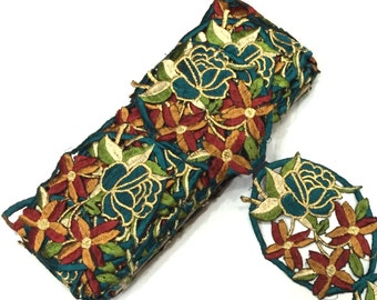 Cutwork Embroidery Trim in 9 yards Of 3.5 Inches Width