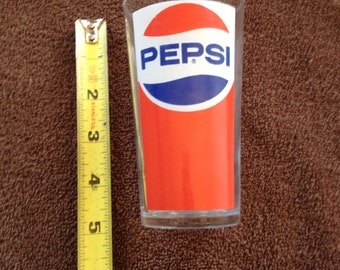 Pepsi Pepsi-Cola Glass Cup Made in France