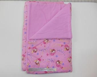 Pink Fairy Baby Blanket