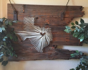 Home decor *Texas string art*