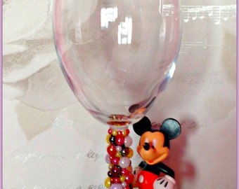 Disney Mickey mouse Wine Glass