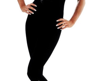Wink Sparkly Diamante Catsuit - spaghetti strap or long sleeve