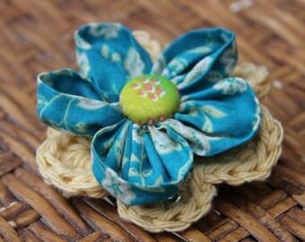 Handmade Hair Flower clip