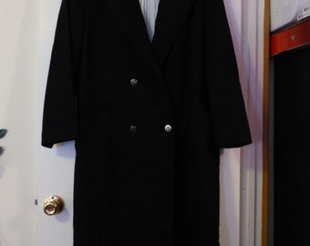 Vintage Forecaster Ladies 16 100% Pure Wool Trenchcoat