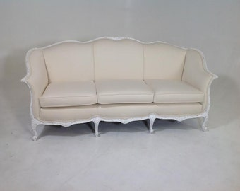 Antique Shabby chic Coutry french sofa         FREE SHIPPING