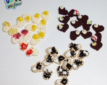 Many earrings sweet