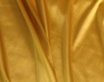 Yellow gold stretch silk 1m