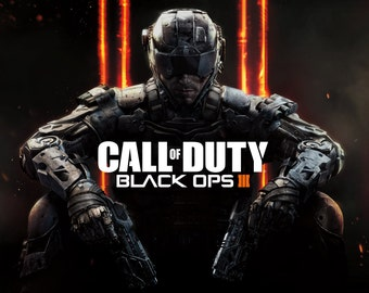 """Call of Duty Black Ops 3 Poster 8.5"""" x 11"""" - 11"""" x 17"""" - 13"""" x 19"""""""