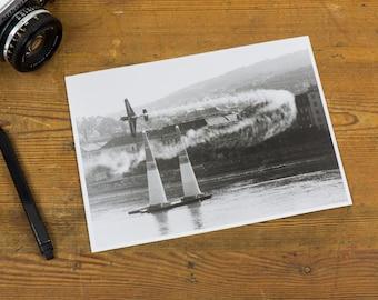 Air Race – Analog, black and white, darkroom, photography, print