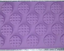 Eighteen hole biscuit cookies Cake Soap mold silicone mold baking molds, kitchen utensils