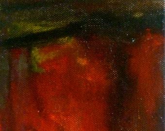 Autumn Mist acrylic painting