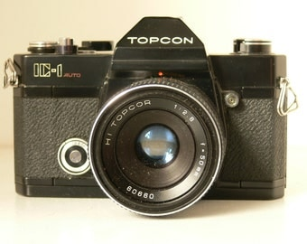 REDUCED Vintage Topcom IC-1 Auto 35mm Camera With 50mm Lens