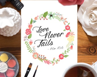 Love Never Fails - PDF ONLY