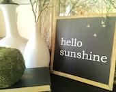 Hello Sunshine, 1x1 Wood ...