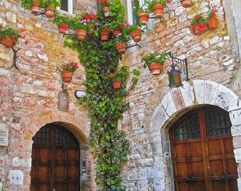 Assisi Italian Photography - Photos From Italy - Vivid Photos - Italiano Fotos - Color or Italia