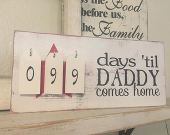 Daddy Deployment Countdown