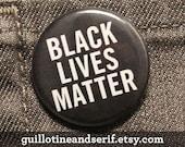 """Black Lives Matter 1.25"""" button"""