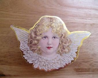 Vintage Angel cardboard box