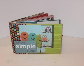 Paperbag Mini Album, Owls