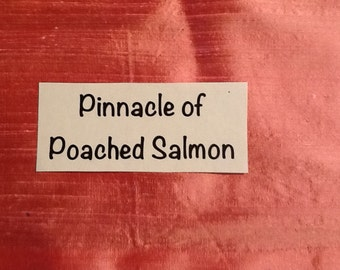 Pinnacle  Of  Poached  Salmon