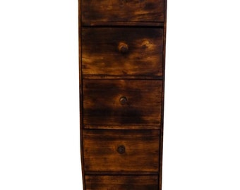 "Wooden cabinet ""post"""