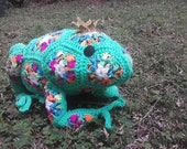 Fergie the African Flower Frog Prince