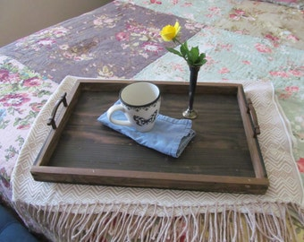Reclaimed Wood Serving Tray 14x20