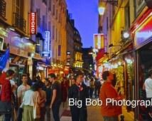 Paris Photography of The Streets of Paris