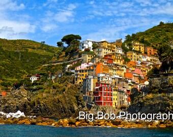 Cinque Terre, Italy Photography Print