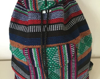Artisanal Mexican backpack
