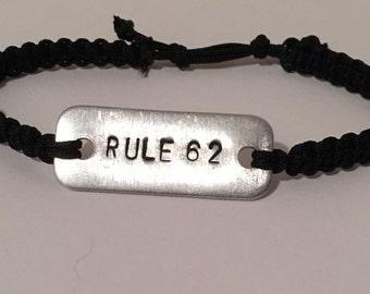 Rule 62 Bracelet