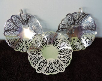 REDUCED! Set of 3 Lovelace bonbon dish