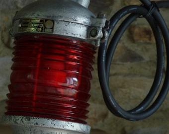 Vintage Soviet Ship Lantern