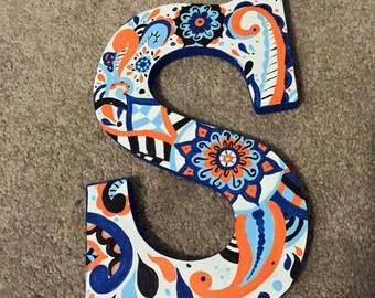 Paisley Letter - Custom Made