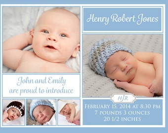 Scripted Birth Announcement