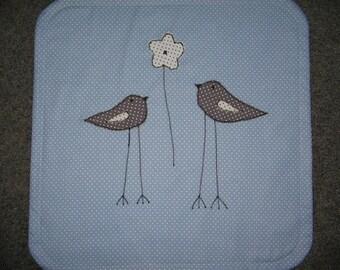 Maxi COSI baby blanket with birds, new!