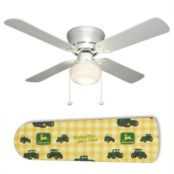 John Tractor Ceiling Fans : John deere ceiling fan w light kit or blades only