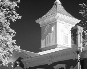 Black and White Photographic Print of Cupola