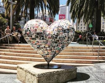 Photo of heart (5x5)