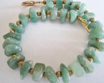 Jade Chips Bracelet