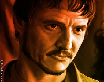 Oberyn Martell, Game of Thrones art print