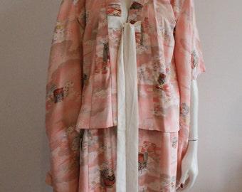Amazing vintage Japanese kimono